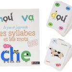 Je joue et j'apprends les syllabes et les mots (coffret cartes et livre)