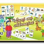 Luaj Me Shkronjat (låda med alfabet memory och CD) ~ Albanais