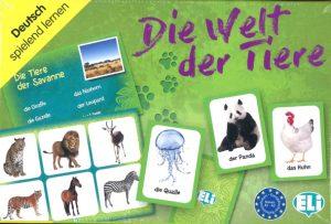 Le monde animal – Die welt der tiere (Jeu en allemand)