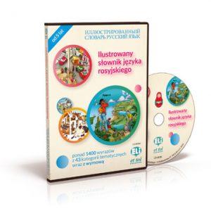 Dictionnaire ELI illustré Russe – Ilustrowany słownik języka rosyjskiego + CD